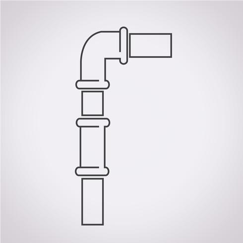 Pipes Icon Symbol Sign Symbols Free Vector Illustration Icon