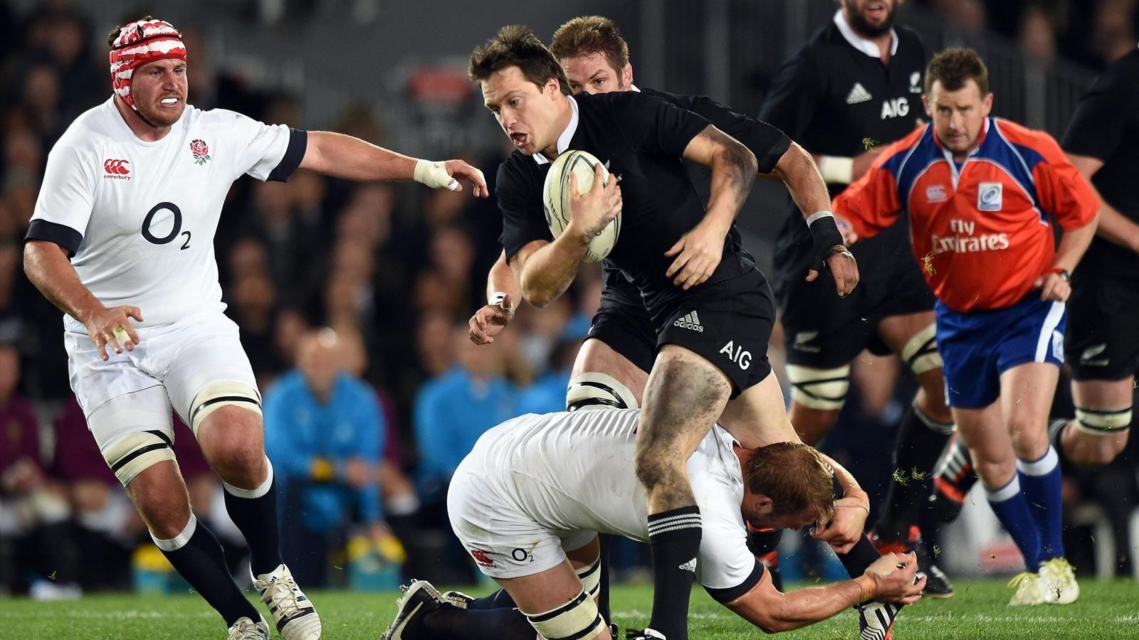 Nouvelle Zelande Angleterre 28 27 Encore Chahutes Les All Blacks S En Sortent In Extremis Rugby Nouvelle Zelande Zelande