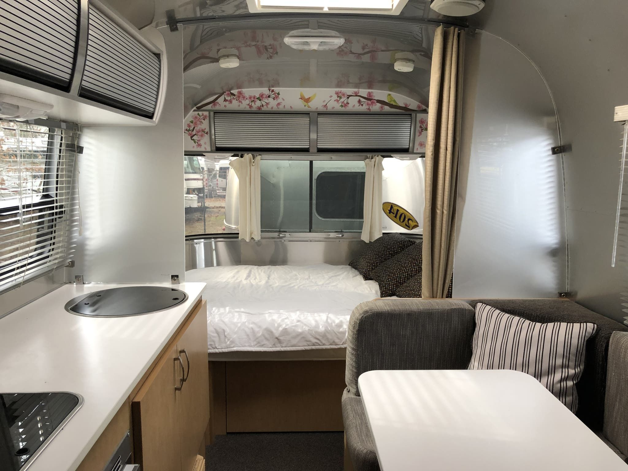 2014 Airstream Sport 22fb Bambi Airstream Under Bed Storage