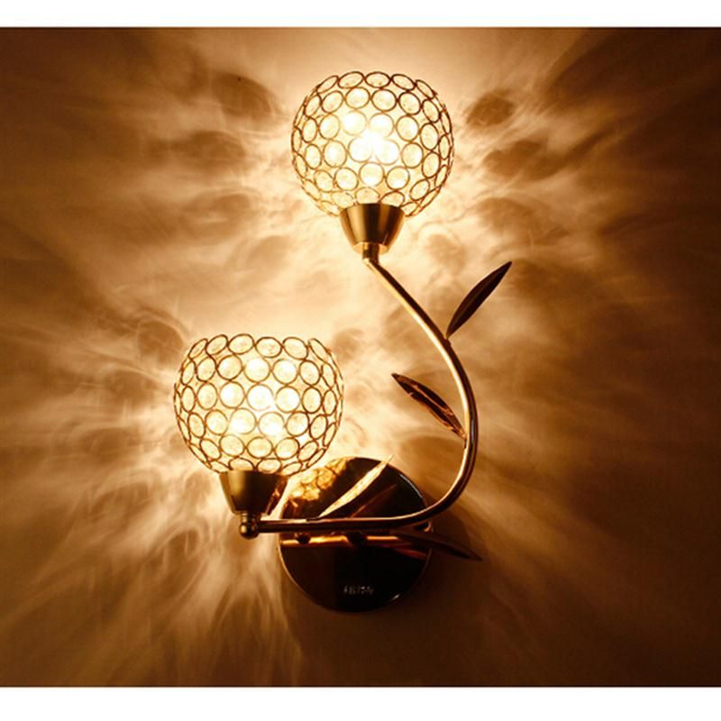 Günstige E14 40 Watt Lampe Moderne Kristall Wandleuchte Kreative - lampe für schlafzimmer