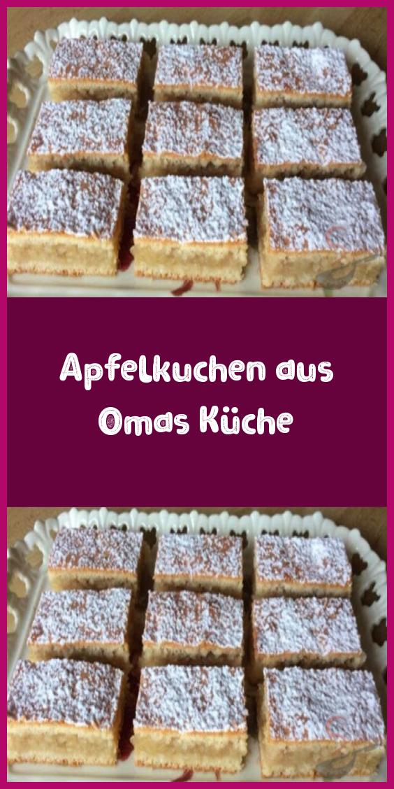 Apfelkuchen aus Omas Küche