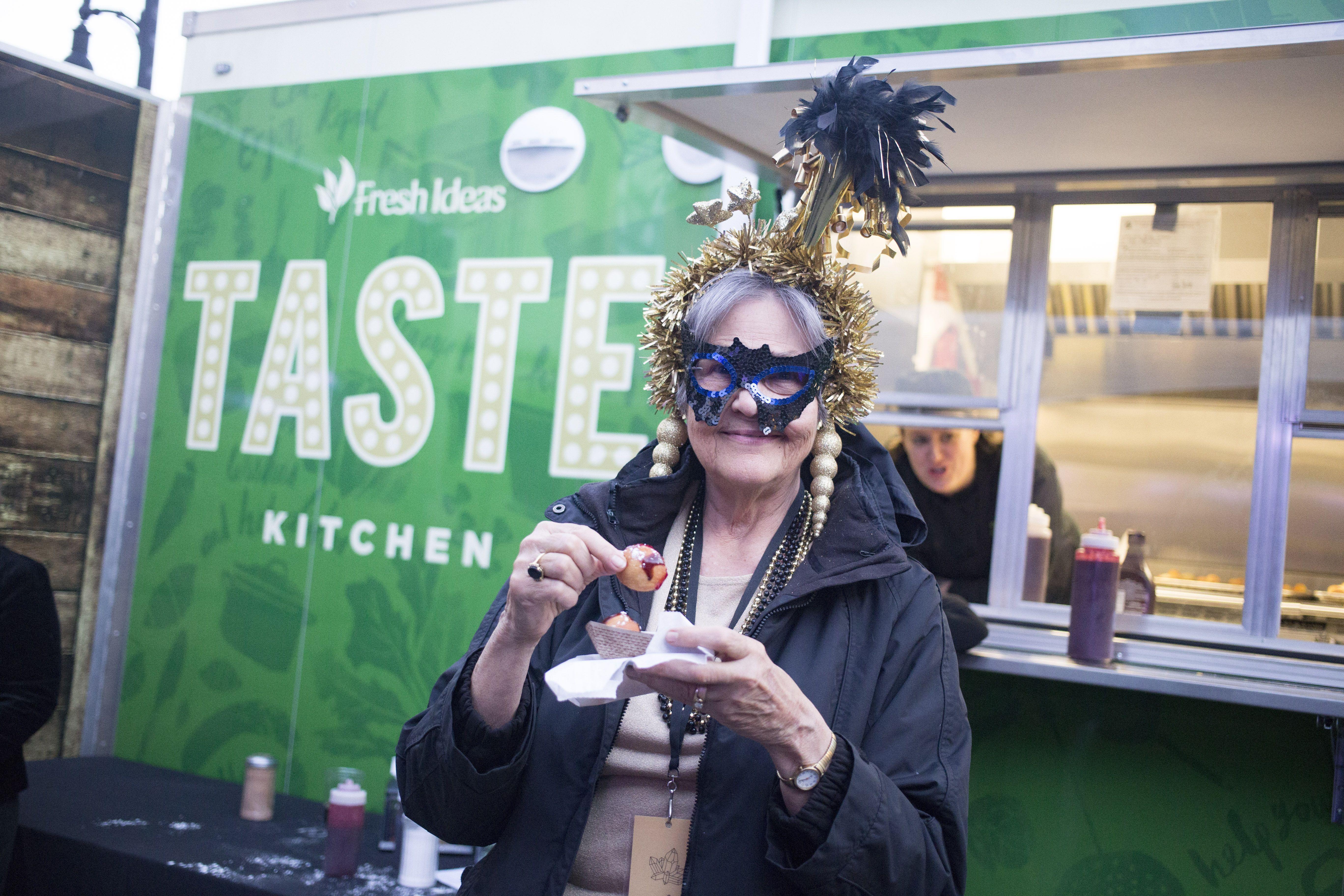 fresh ideas food truck at the true/false film festival in columbia