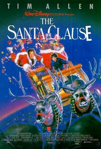 The Santa Clause (1994) If this isn't a Christmas movie, I
