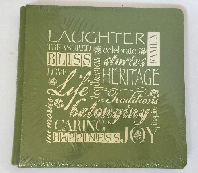 New Creative Memories Olive Scrapbook Album #CreativeMemories