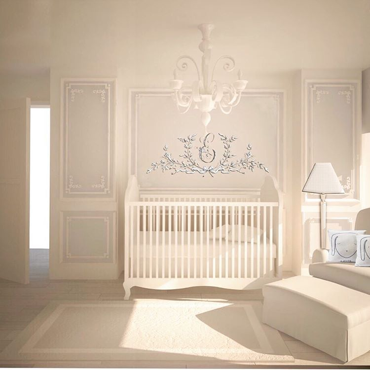 Parisian Baby Nursery Design Pictures Remodel Decor And: Elegant Baby Nursery Designs By 3moms …