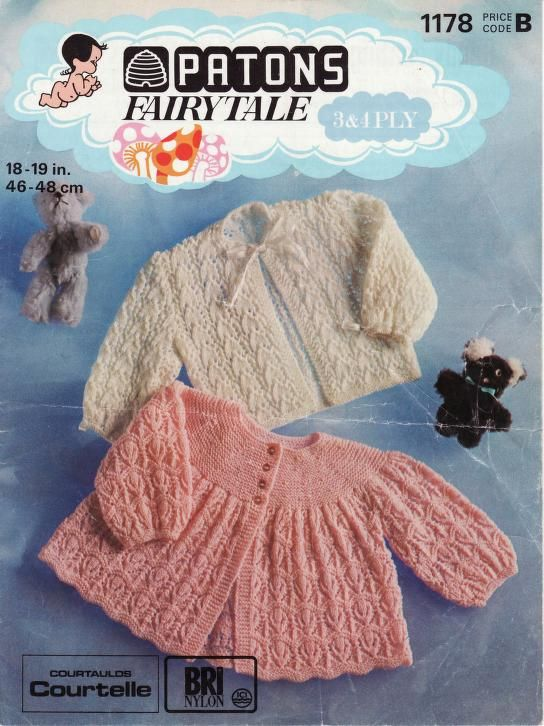 Patons 1178 Candy Coating | Knit Baby Bks-Archive | Pinterest | Bebe