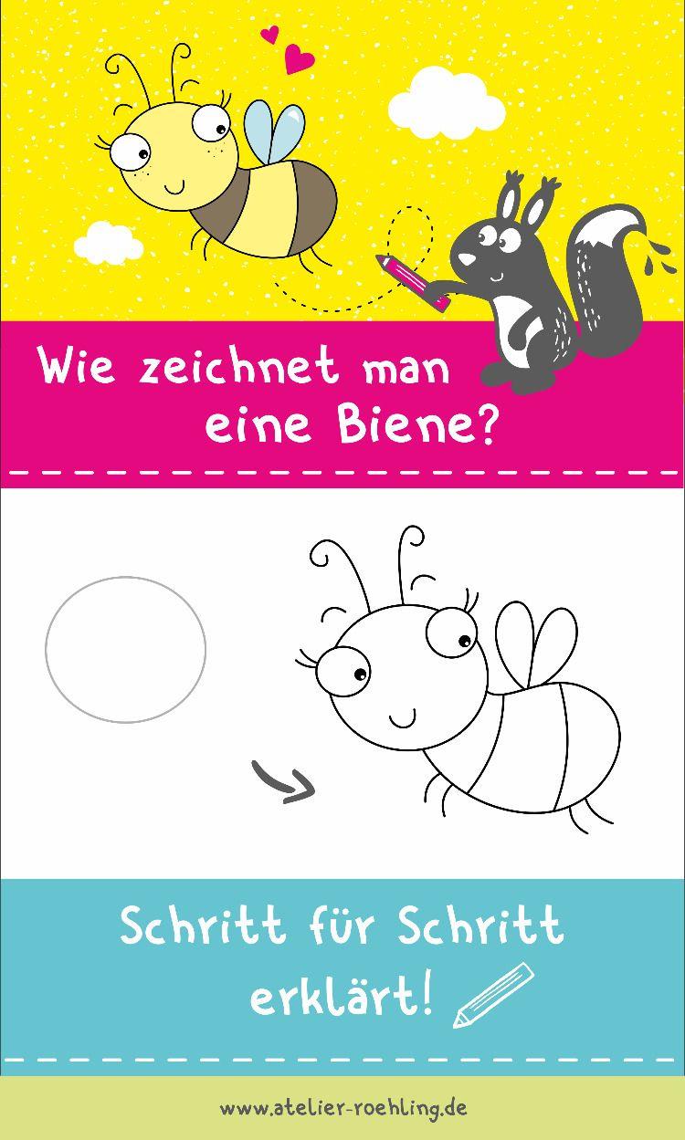 Wie Zeichnet Man Eine Biene Gruppenboard Creative Business Party