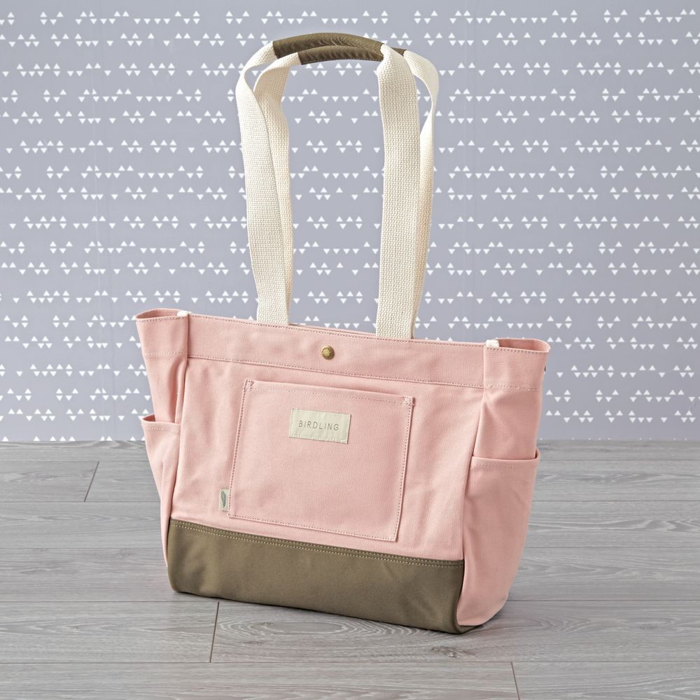 Birdling mini day tripper pink diaper bag products