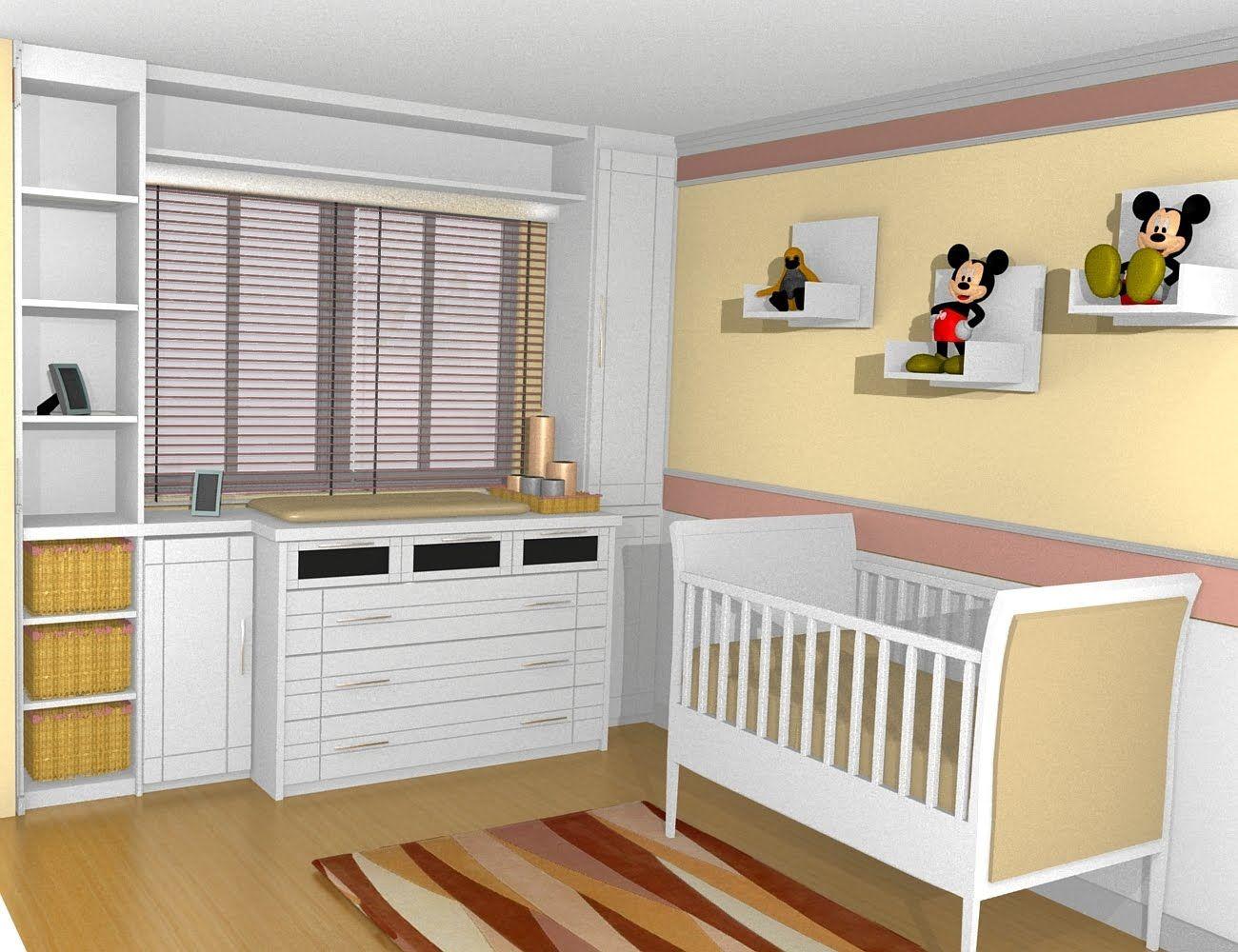 Quarto de bebe com armarios projeto pesquisa google quartinho pinterest project nursery - Armarios bebes ...