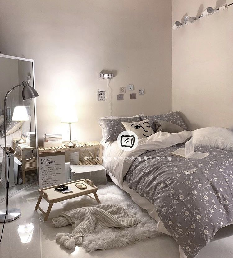 Pin Di Room S Decor Get gray aesthetic room decoration