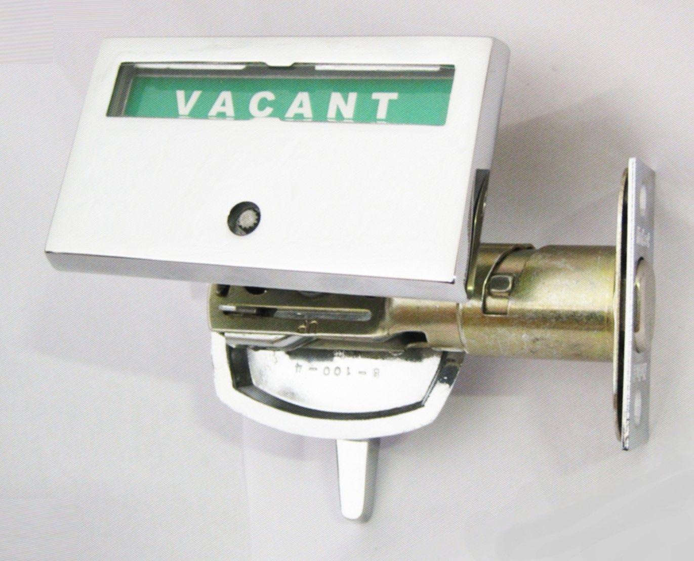 Vacant Occupied Door Indicator Privacy Indicator Door Lock Restroom Deadbolt Occupied Door Lock Door Handles Outdoor Spaces Vacant