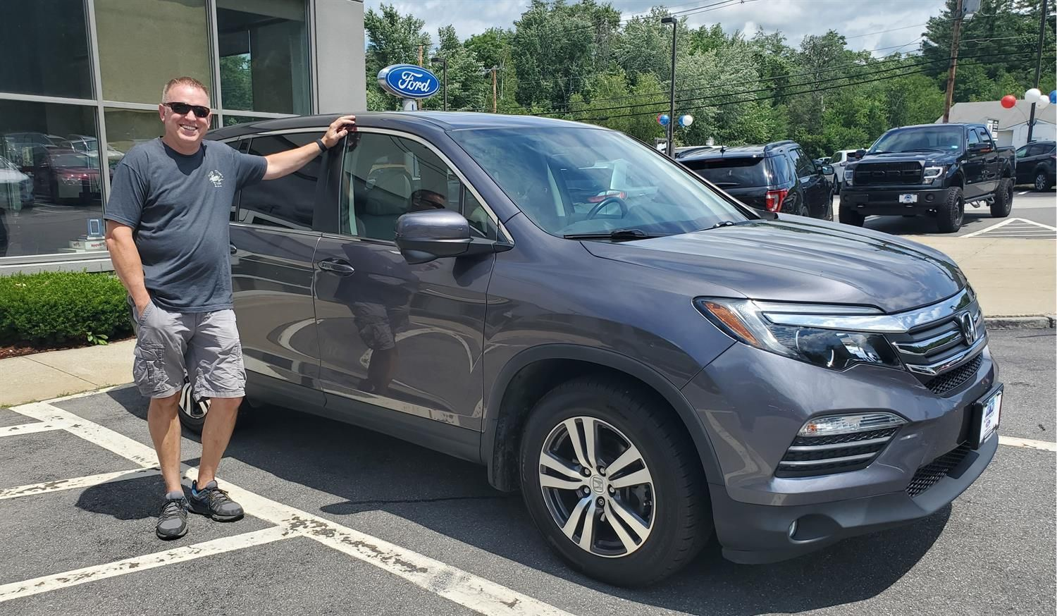 Oliver We Heard You Re Head Over Wheels In Love With Your New 2017 Honda Pilot Congratulations From Monadnock Ford Cra In 2020 2017 Honda Pilot Honda Pilot Honda