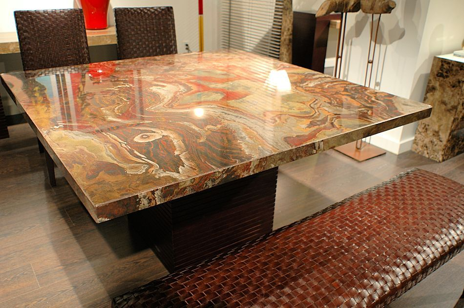 marble dining room tables - Yahoo Image Search Results | marble ...