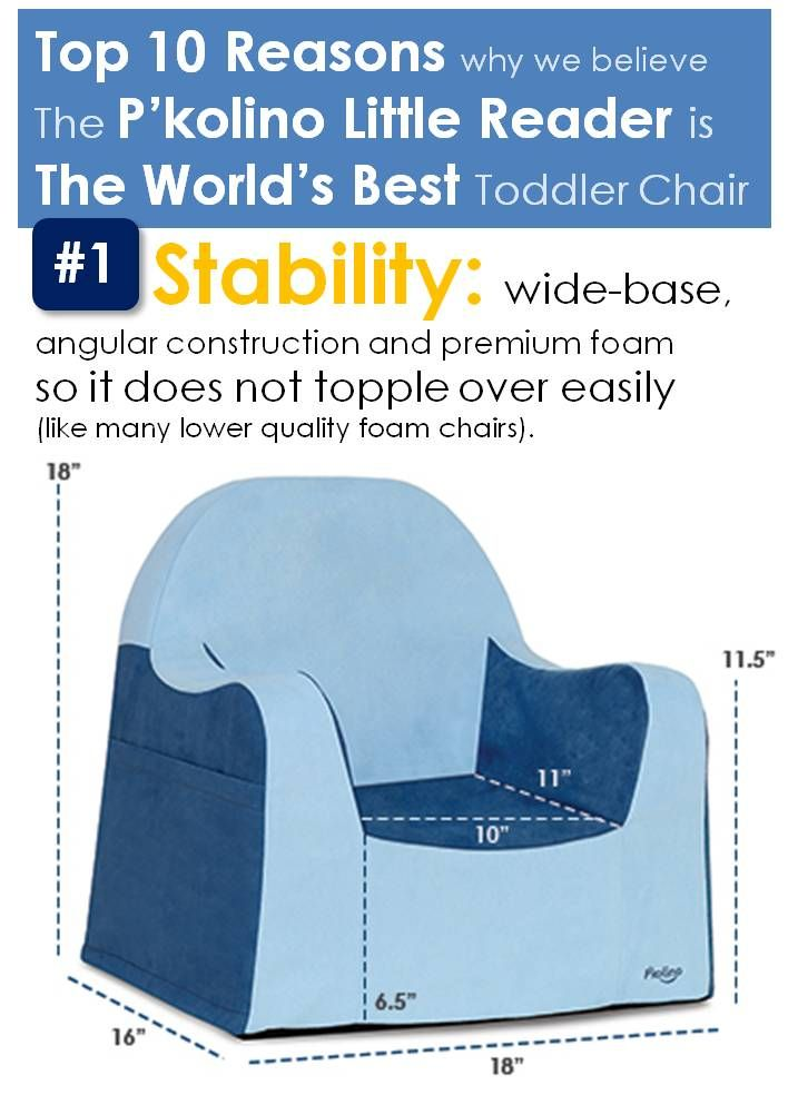 Top 10 Reasons Why We Believe It Is The World S Best Chair For Toddlers Reason 1 Stability Wide Base Angular Construction Toddler Chair Toddler Kids Chairs
