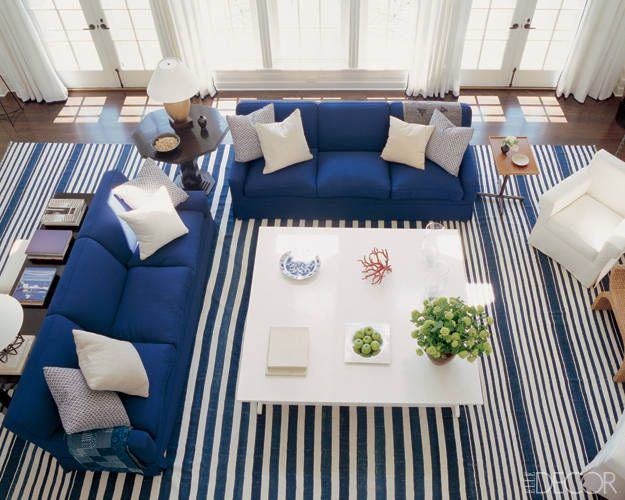 9 Rooms That Prove Blue And White Make The Perfect Pair Nautical