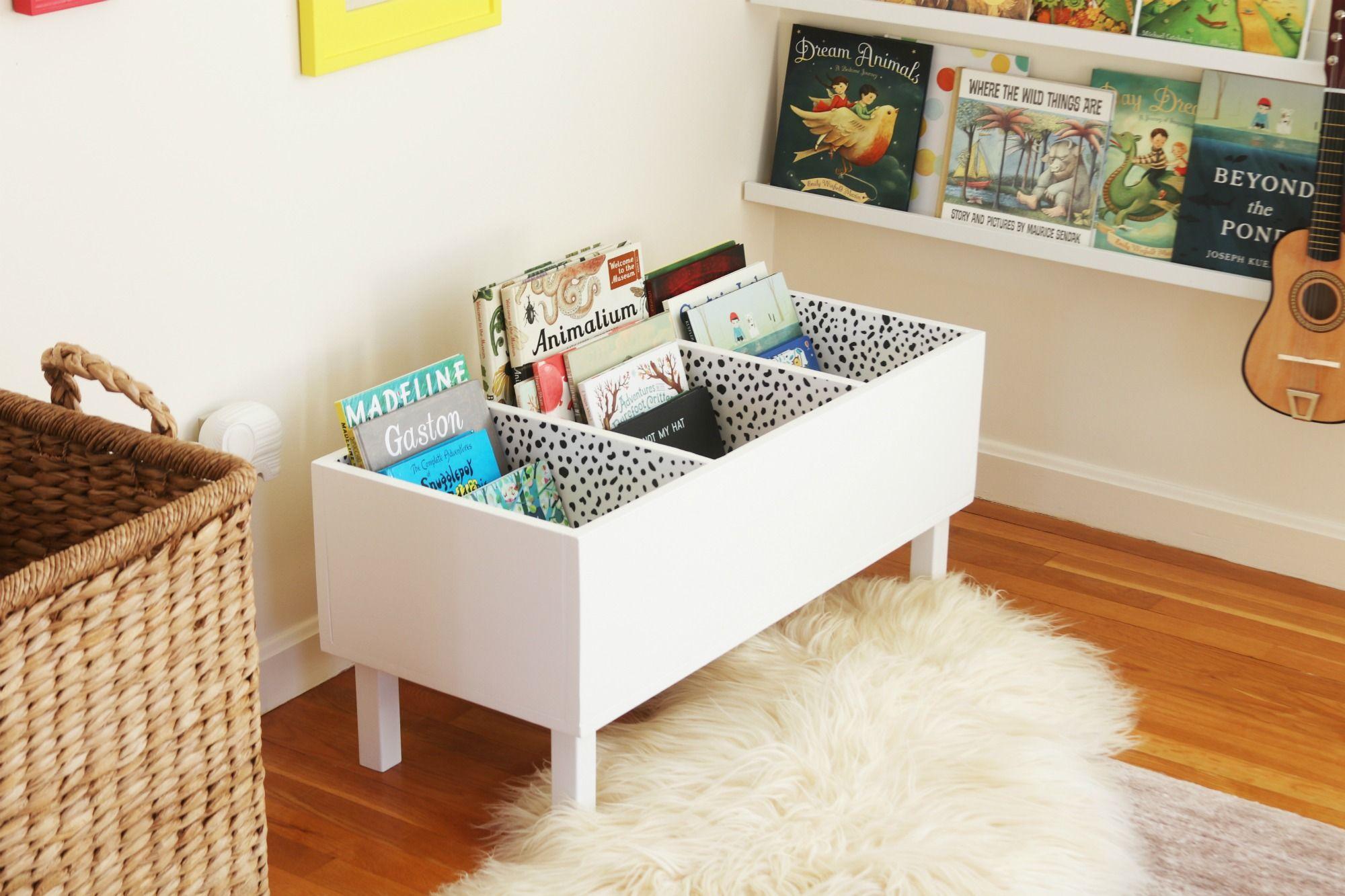 Librerie Per Camerette Bambini i made a book bin | camerette, idee e libri per bambini