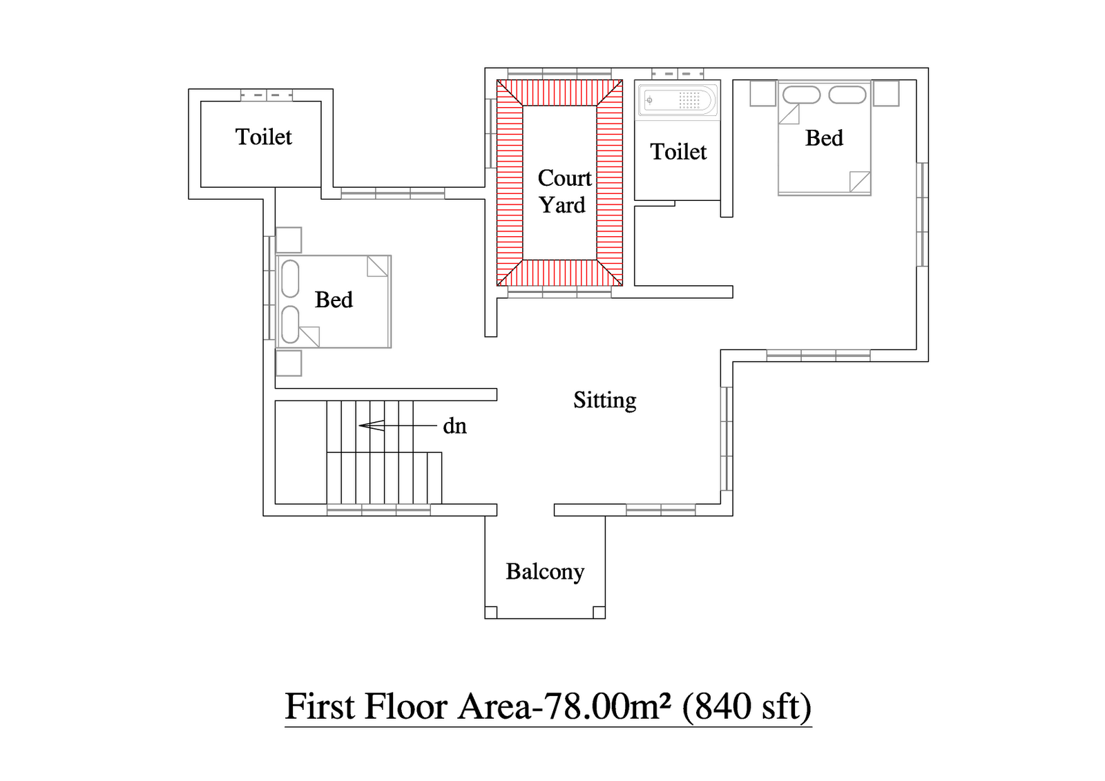 2000 Sqft 3bhk House Plan Kerala Home Floor Plans With Photo House Floor Plans Kerala Houses Single Floor House Design