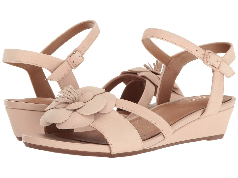c38517b2705 CLARKS CLARKS - PARRAM STELLA (DUSTY PINK NUBUCK) WOMEN S SANDALS.  clarks   shoes