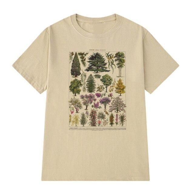 Photo of Vintage Botanical T-shirt – Khaki / L