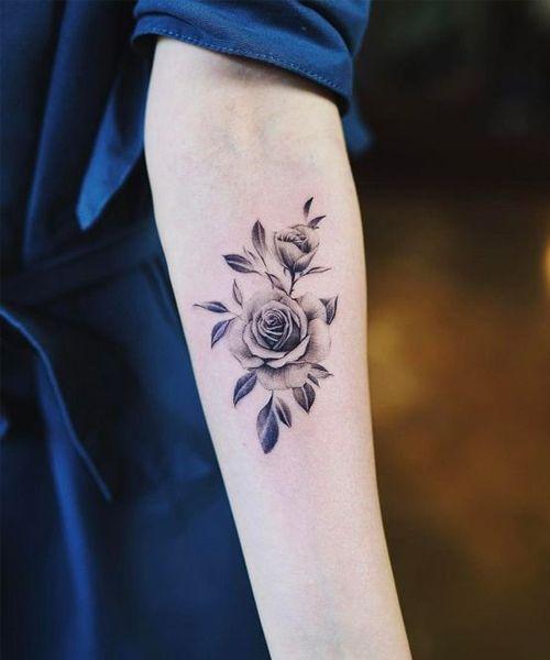 Cool Flower Tattoos : flower, tattoos, Explicitly, Flower, Tattoo, Designs, Girls, Meaningful, Wrist, Tattoos,, Watch, Small, Tattoos