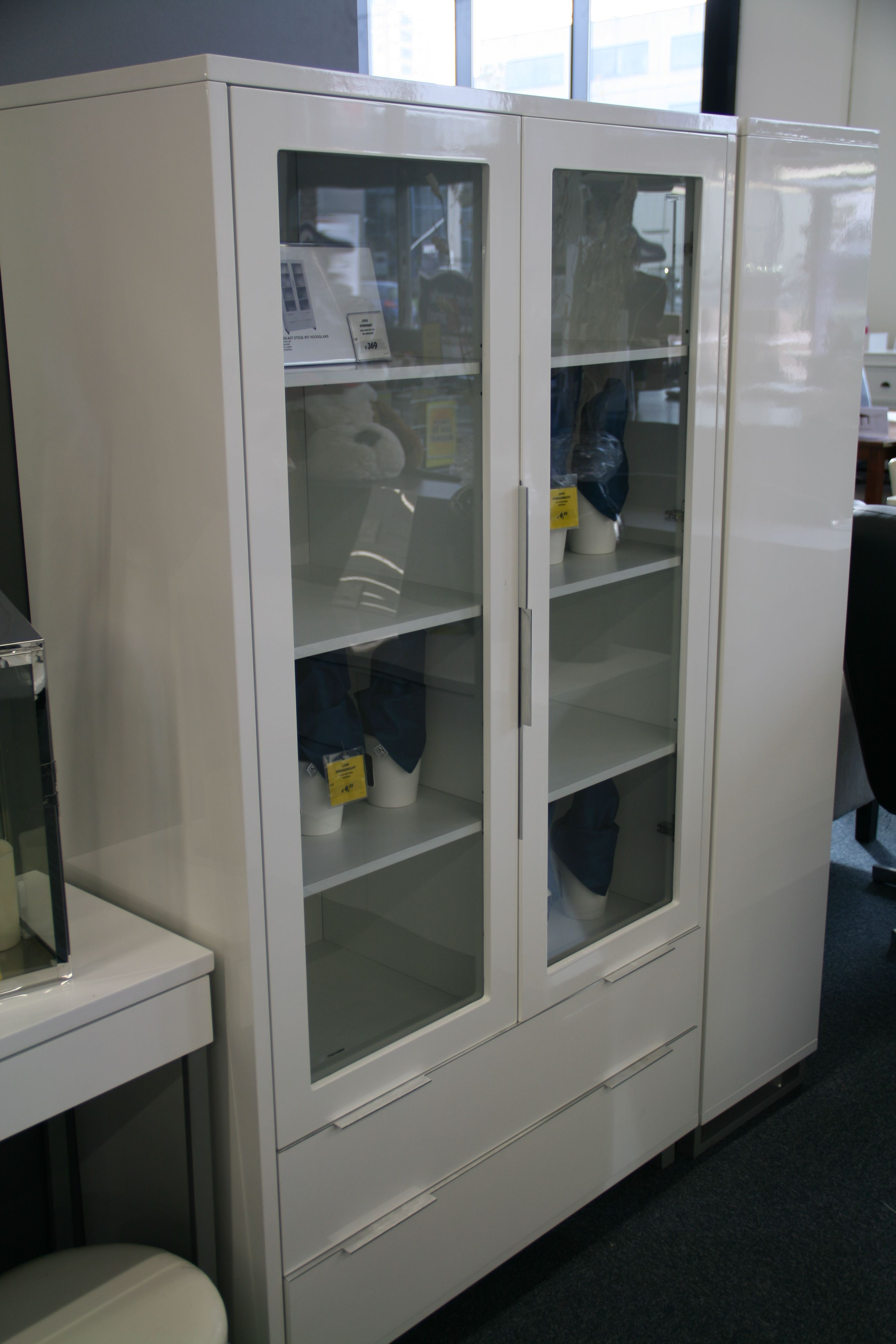 stege vitrinekast jysk jysk woonkamer inrichting with liatorp vitrinekast. Black Bedroom Furniture Sets. Home Design Ideas