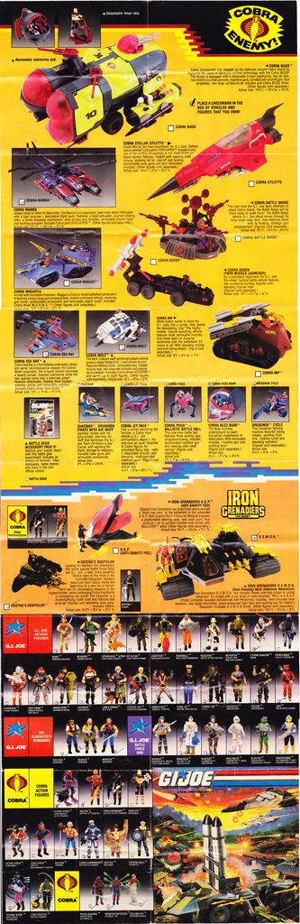 1988 G.I. Joe catalog side1 | Flickr - Photo Sharing!