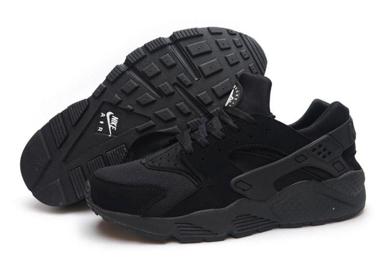 Nike Huarache Black And White Mens