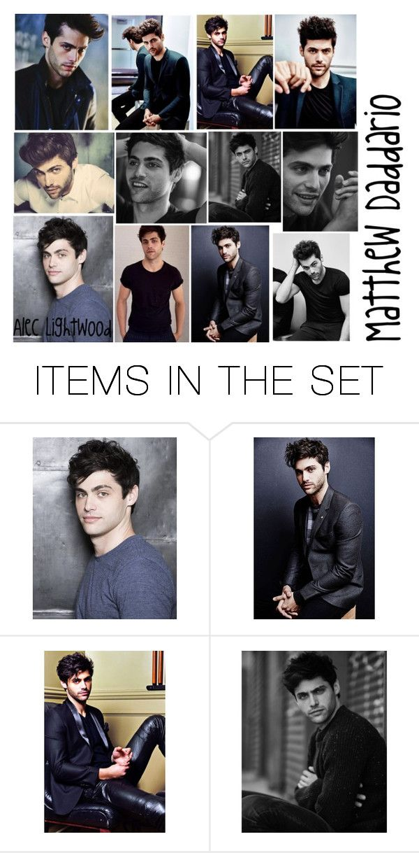 """Matthew Daddario🔥❤️😍😩😘👌🏻"" by that-little-black-dress ❤ liked on Polyvore featuring art"