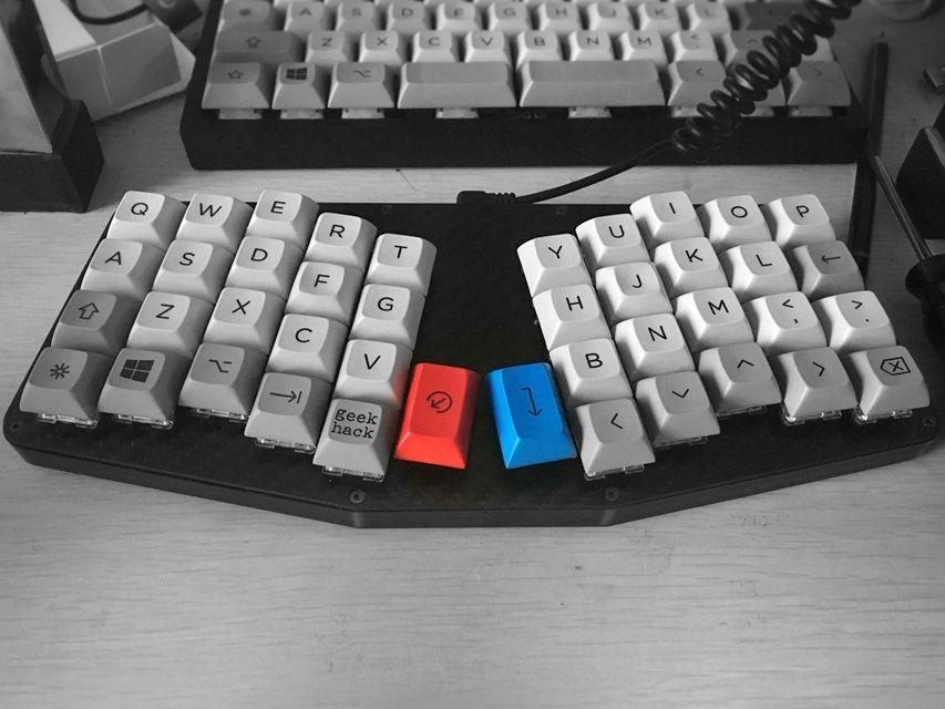 Atreus with Kimera Core 40% keyboard | Mech Keys | Keyboard