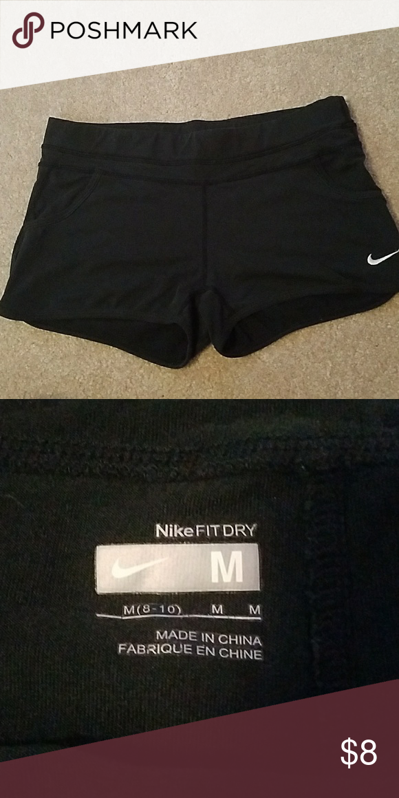 afa7ecb21e0 Fitted Nike Dri-Fit shorts Cute little shorts wore them with tights ...
