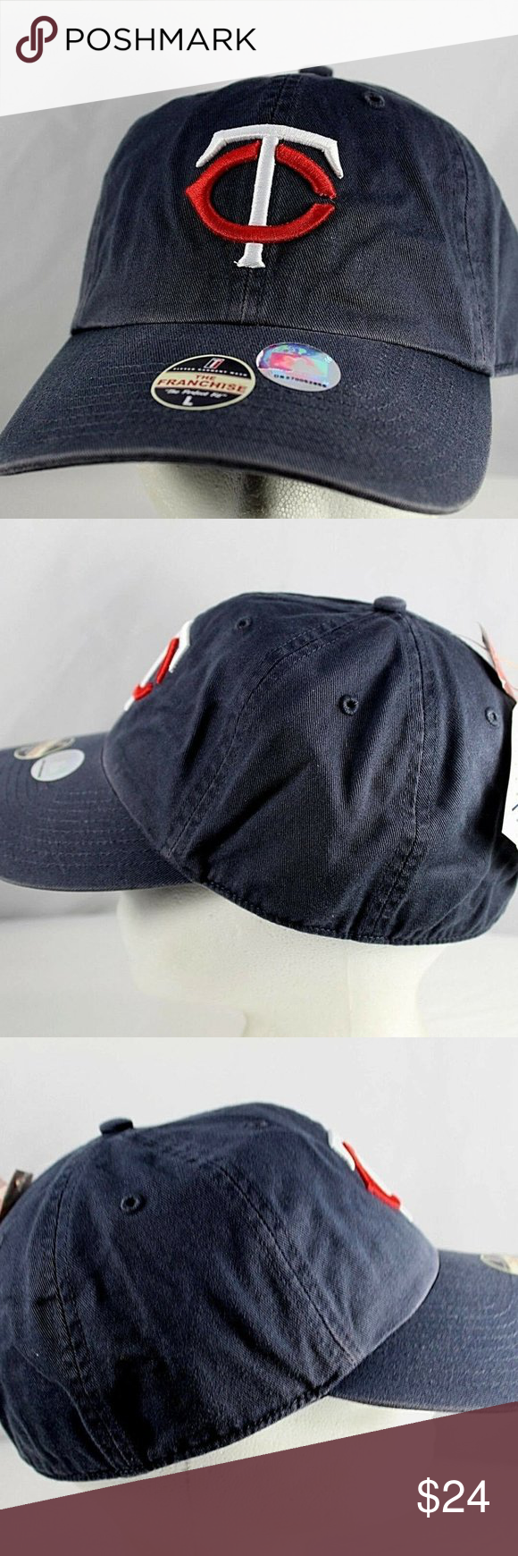Minnesota Twins Blue Baseball Cap Fitted L in 2020