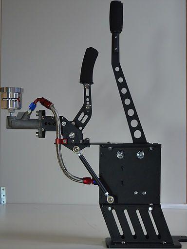 Racing Car Simulator Cockpits Sq Handbrake Amp Shifter