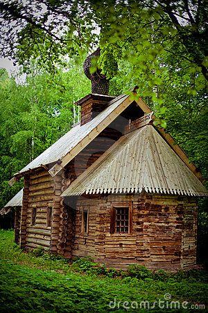 russian log house #2