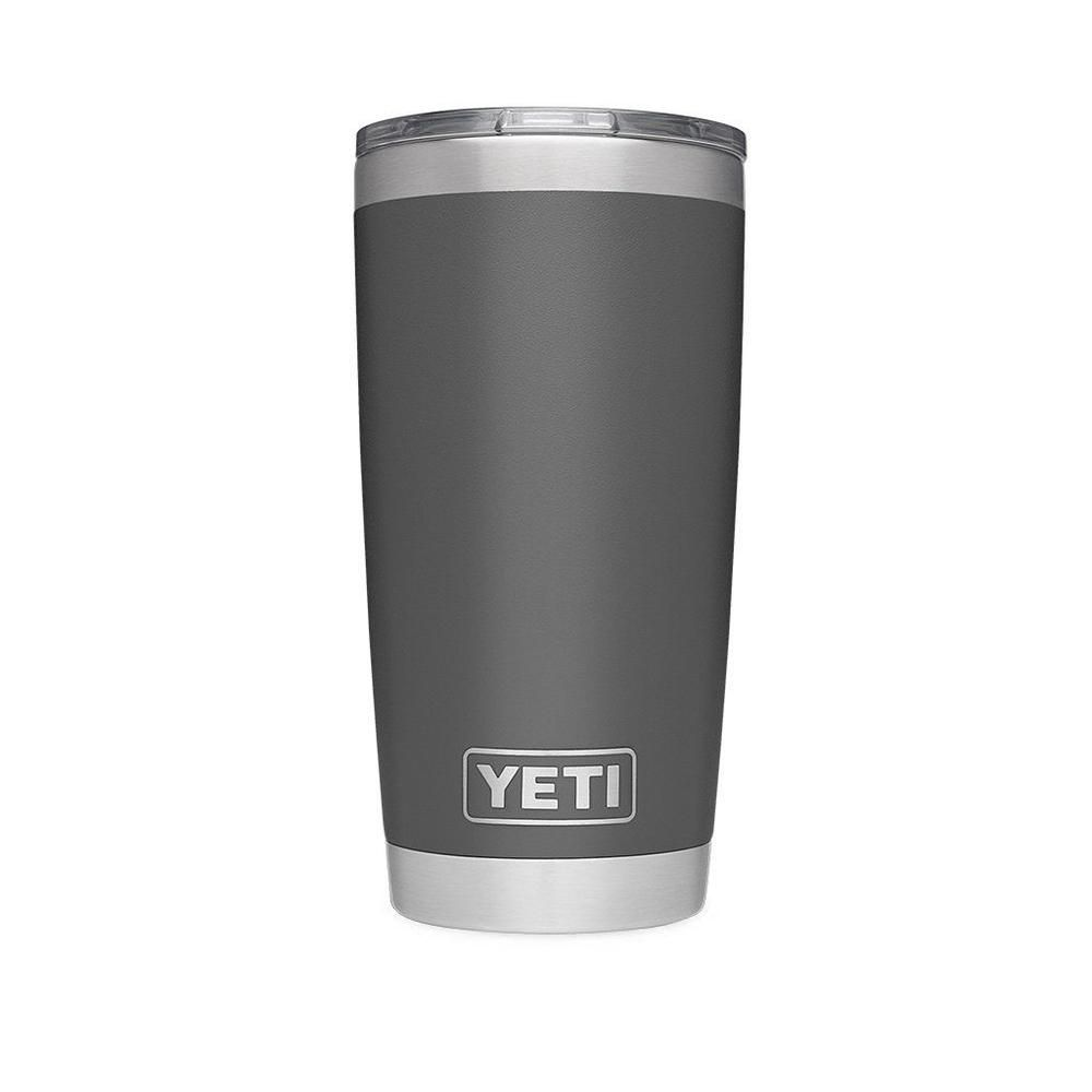 20 Oz Duracoat Rambler Tumbler In Charcoal With Magslider Lid By
