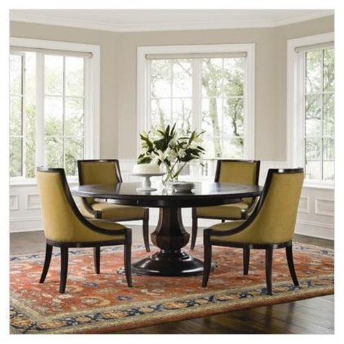 Expandable Dining Room Sets: Sienna Dining Table In Warm Chestnut