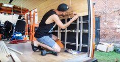 wohnmobil selbstausbau innenverkleidung einbauen camper pinterest wohnmobil selbstausbau. Black Bedroom Furniture Sets. Home Design Ideas