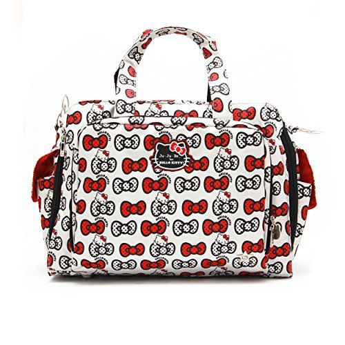 Ju Be Prepared O Kitty K A Bow Baby Diaper Bag W Changing