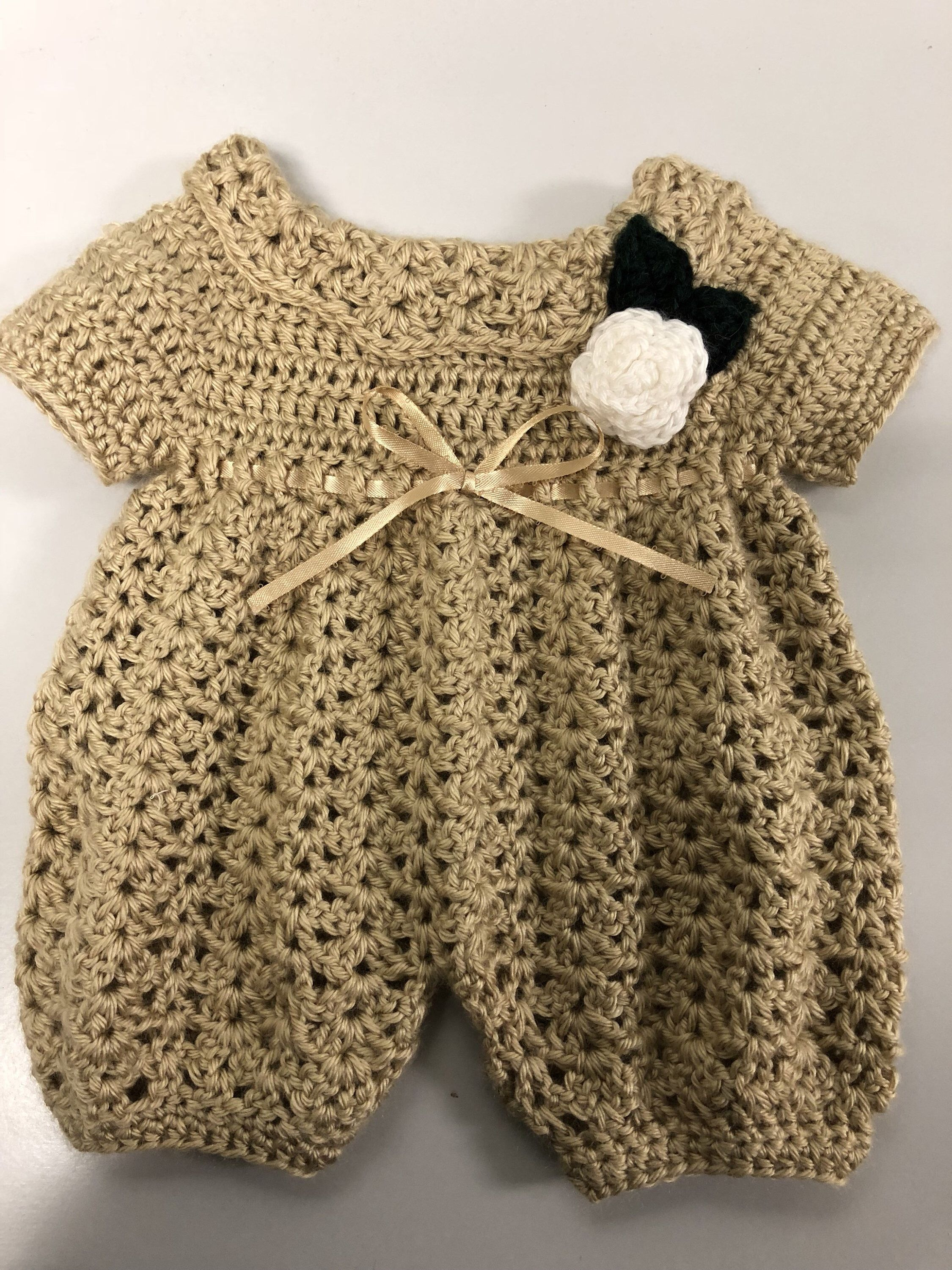 Baby girl crochet clothes  newborn lace romper  bring home baby girl outfit  baby girl knitwear  baby clothes girl  handmade lavender