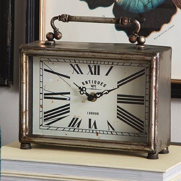 Vintage Style Bedroom Clock #homedecorblog