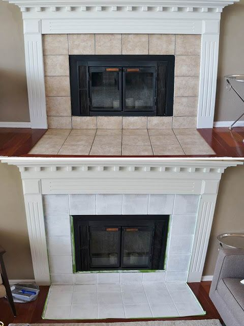 freckles chick fireplace mini facelift home improvement in 2019 rh pinterest com