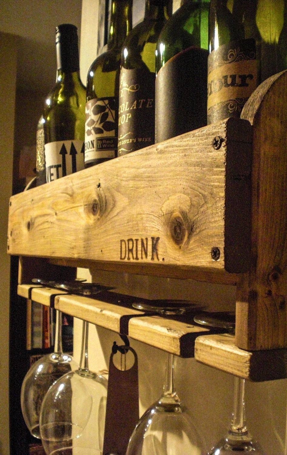Customizable+Rustic+Reclaimed+Wood+Wine+Rack+by+LittlePinkSquirrel ...