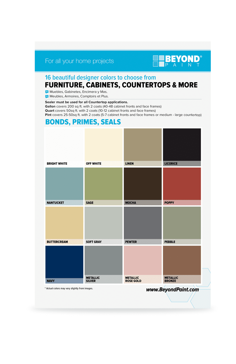 Beyond Paint Color Card Beyond Paint In 2020 Beyond Paint Paint Colors Color Card