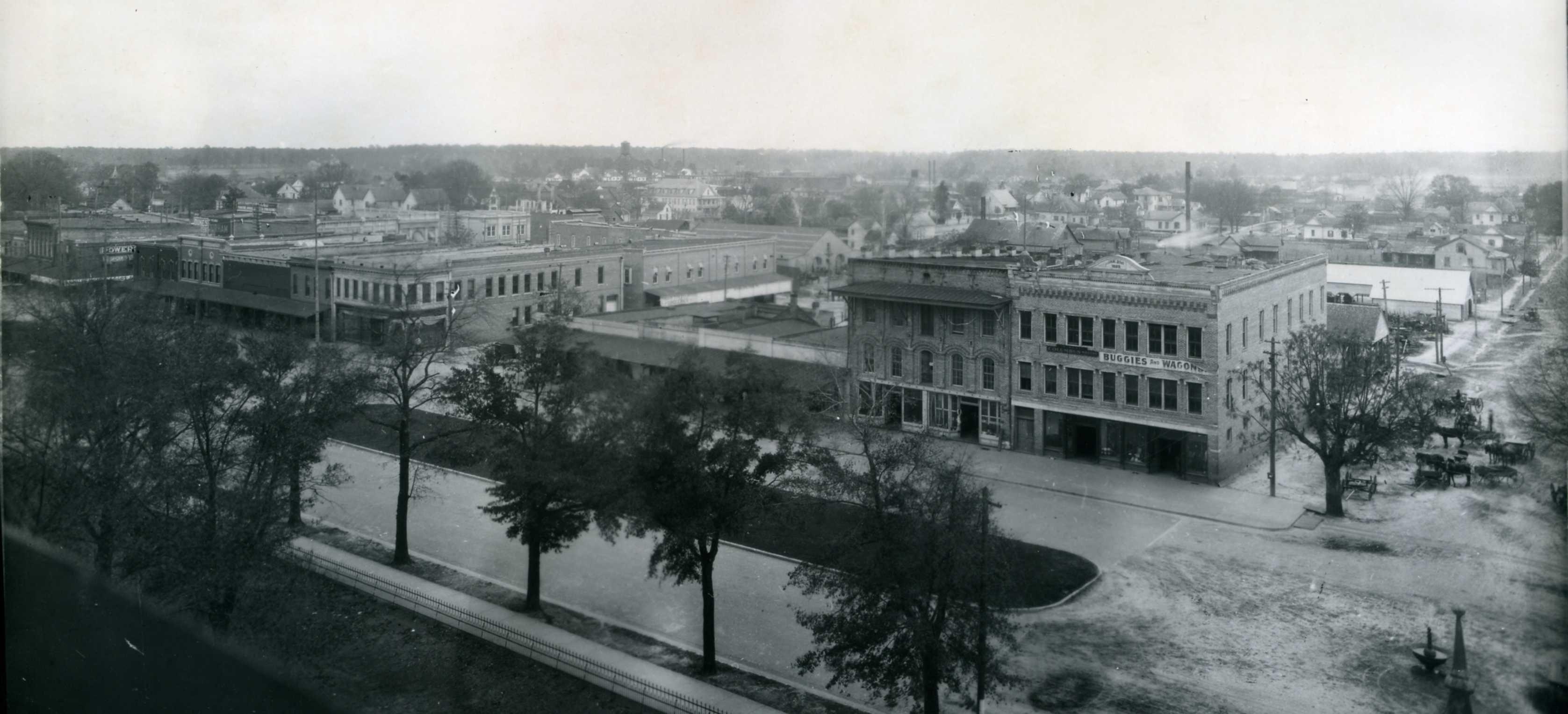 View of downtown quitman ga