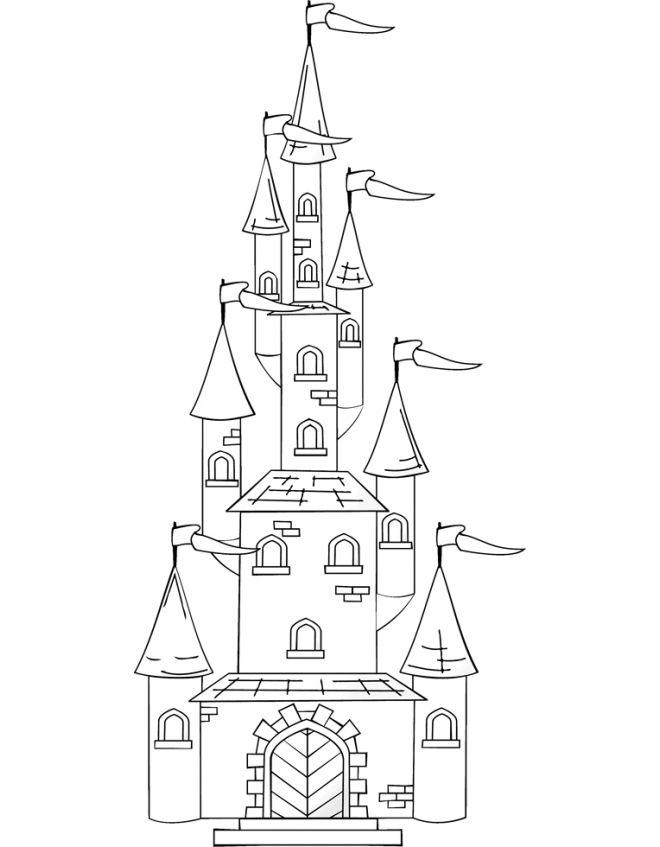 Castello Di Frozen Da Colorare Cerca Con Google Attività Per Bambini