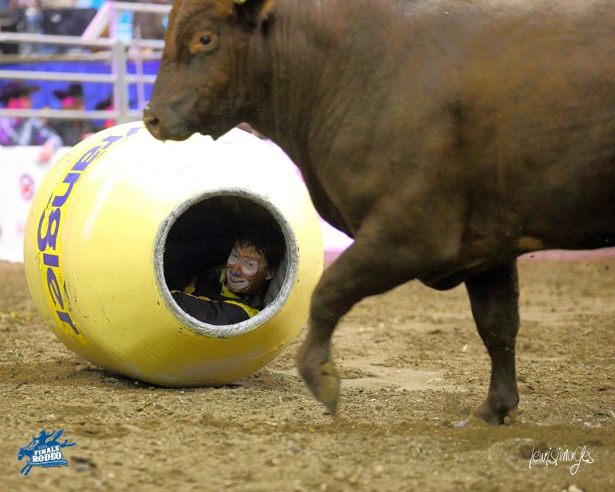 Denny Halstead ,after a bull fight lol Bull riders