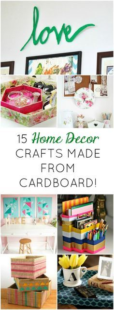 Boxes For Decoration And Crafts 15 Clever Ways To Craft With Cardboard Boxes  Cardboard Boxes