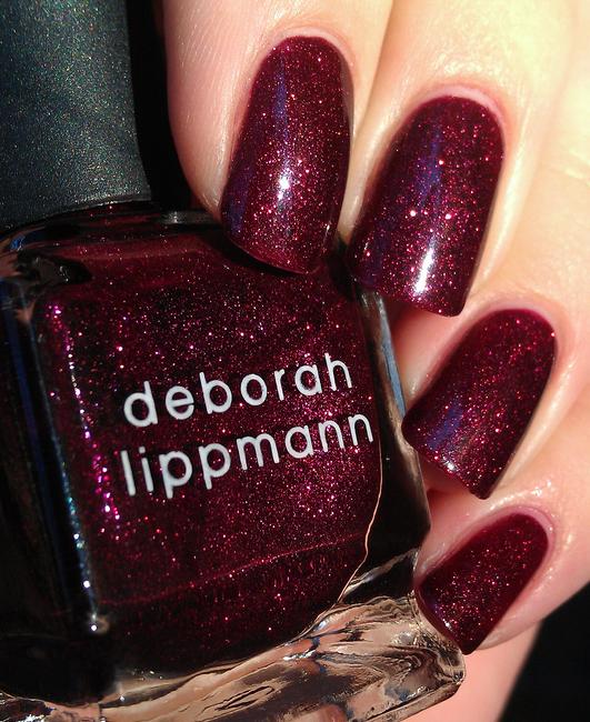 Deborah Lippmann Good Girl Gone Bad Nail Polish Nail Shimmer Nail Art Manicure