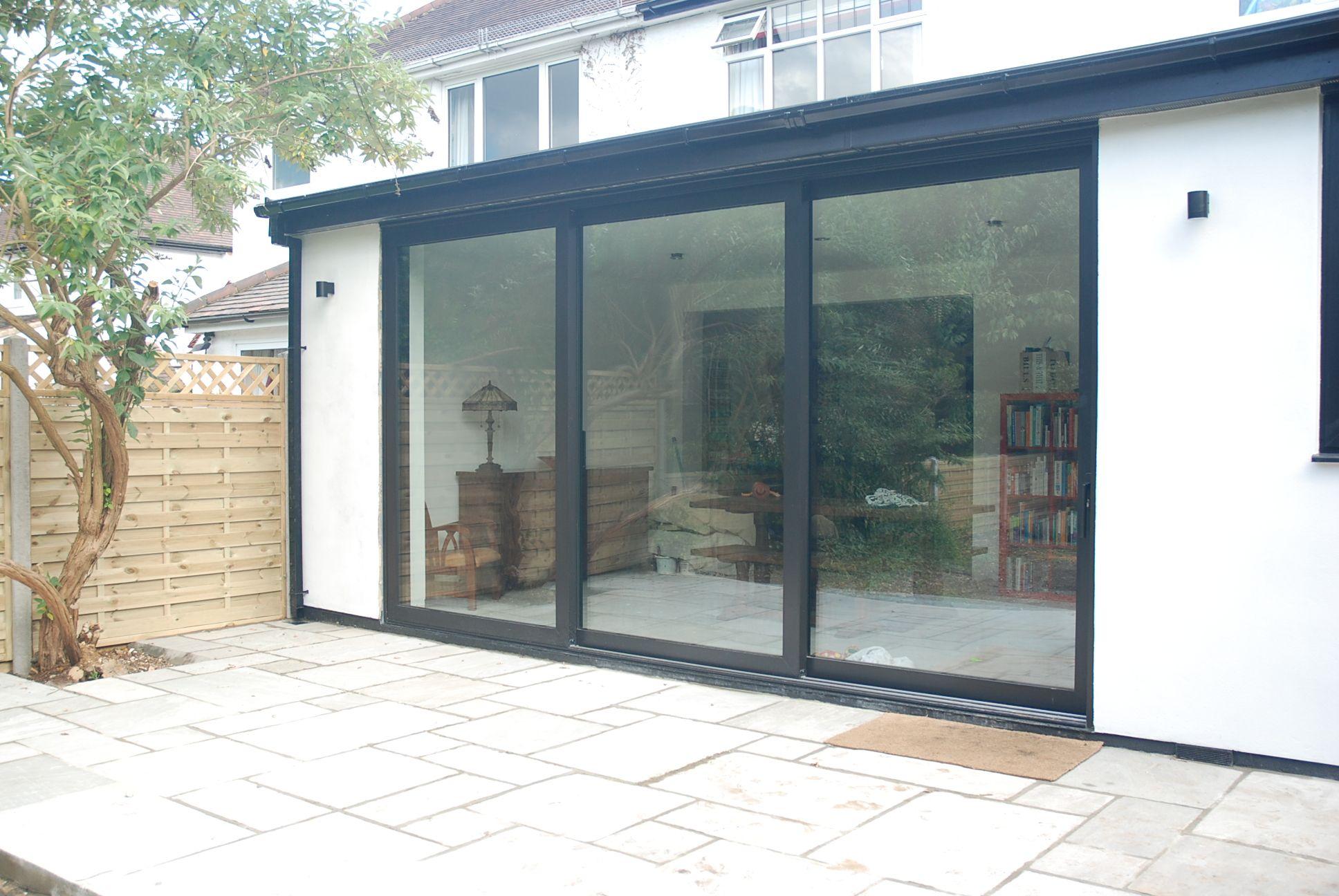 Reynaers cp130 sliding doors cp130 pinterest sliding for Sliding glass doors extension