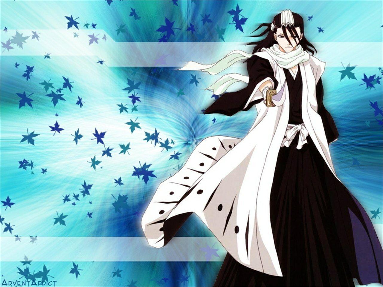 Bleach Byakuya Kuchiki 720p Wallpaper Hdwallpaper Desktop