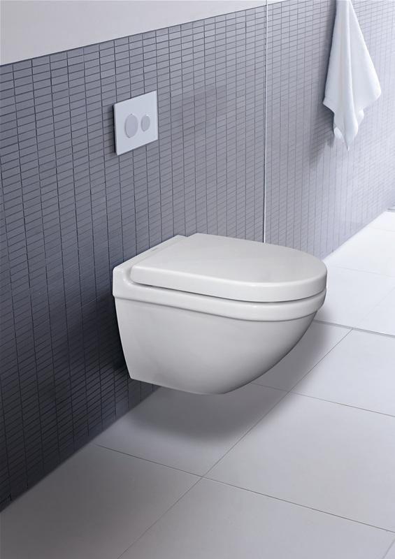Duravit Starck 3 compact toilet verborgen montage | toilet ...